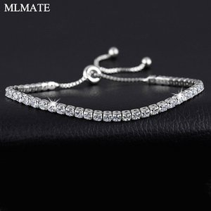 5 colori moda Cubic Zirconia Tennis Bracciale Bangles per donne Charm Regali New Luxury Armbanden Wedding Wedding Jewelr