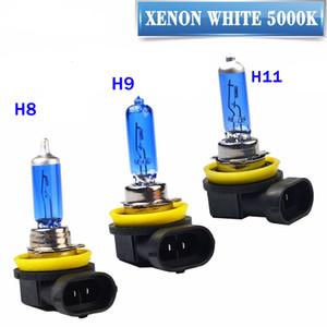 10 배 슈퍼 화이트 할로겐 전구 H1 H3 H4 H7 H8 H9 H11 9005 HB3 9006 HB4 12V 55W 5000K 석영 유리 자동차 헤드 라이트 램프