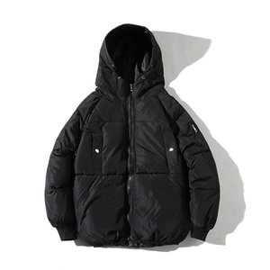 Drop Shipping Veste D'hiver Hommes Streetwear Parka Hombre Invierno Mode Hip Hop Outwear Manteaux