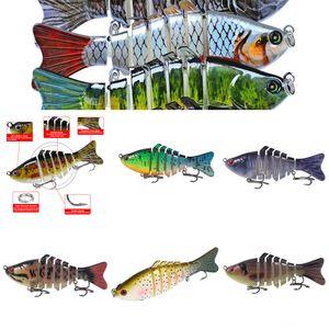 4oxJM squid # 5555 crevettes lumineuse douce faux bionique baitset pêche à l'appât lumineux Luya appât Blackfish