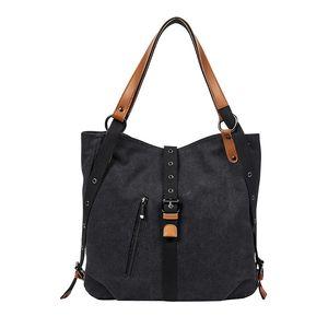Moda Handbag bolsas de lona Hobo Bags Boho Estilo bolsas de estilista para mulheres bolsas resistente Handbag Sólidos
