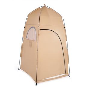 TOMSHOO Portable Outdoor Dressing Dressing Changing Tent Tenda da bagno Pop Up Bagno Shelter Tenda da doccia per la pesca in spiaggia