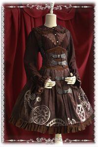 2016 HOT Girls Daily Lolita Dress Elegant Steampunk Corset Embroidery JSK Sweet Lolita Dress S-XL