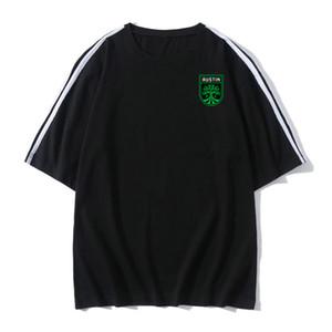 Austin FC Futbol Futbol Tişörtlü yetişkin Kısa kollu futbol Formalar yaz moda Boş Marka Futbol gömlek Erkekler Tişörtler mens