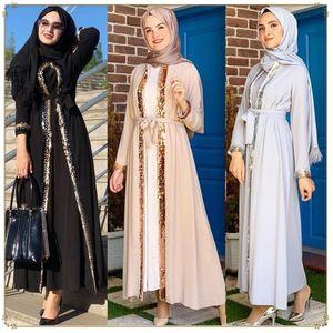 Ramadan Eid Mubarek Dubai Abaya Kimono Cardigan Hijab Muslim Dress Women Kaftan Islamic Clothing Robe Longue Femme Ete Musulmane