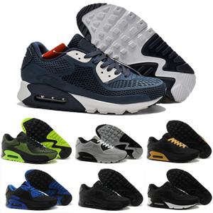 Nike Air Max 90 2019 barato caliente de la venta Tavas SE 90 aires Imprimir Thea mujeres de los hombres formadores de descuento altos auténticos 87 Airs zapatos 36-45 c13