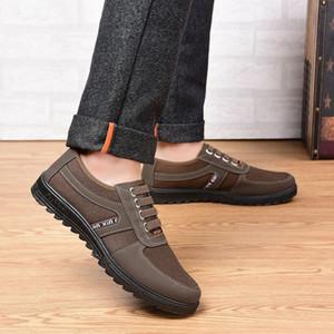 Четыре сезона среднего возраста мужская обувь папа обувь среднего возраста мужчины досуг мягкой подошвой противоскольжения пожилых людей обувь одного