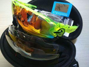 2020 polarizada Marca Ciclismo óculos Goggles Corrida de Ciclismo Eyewear 4 Lens JBR Ciclismo Sunglasses Sports Driving Bicicleta Sun óculos baratos