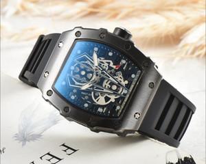 2019 Новый стиль отдыха R-CHARD Марка Luxury Fashion Скелетон Часы для мужчин или женщин Череп спортивные кварцевые часы Big Bang спортивные кварцевые часы