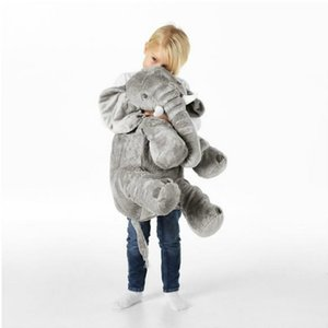 Kids Elephant Soft Pillow Large Elephant Toys Stuffed Animals Plush Toys Baby Plush Doll Infant Toys Children Gift Drop Shipping CX200606