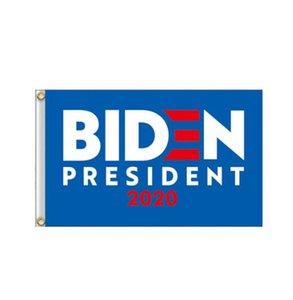 Trump 2020 Uçan Bayrak Amerikan Dekor Banner GGA3466-4 Asma Joe Biden Bayrağı 90 * 150cm Bahçe Bayraklar Başkanı ABD Büyük