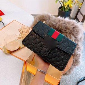 Embossed chain bag designer backpack wallet crossbody bag handbag designer bag 2020 luxury designer woman bags 2020 new