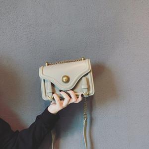Borsa CHISPAULO modo delle donne piccola pelletteria solido spalla di colore dell'annata singolo sacchetto signore Flap Phone