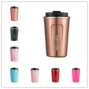 Sızdırmaz Kapak Paslanmaz Çelik Vakum Mug ile 380ml Seyahat Mug İzoleli Coffee Cup Çift Duvar Paslanmaz Çelik Vakum İzolasyon Kahve Mug