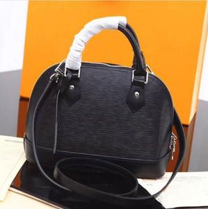 Trasporto libero! ALMA BB Shell sacchetto di alta qualità borse a tracolla in pelle genuino classico ipe donne famose borse del progettista di marca controllo di borsa