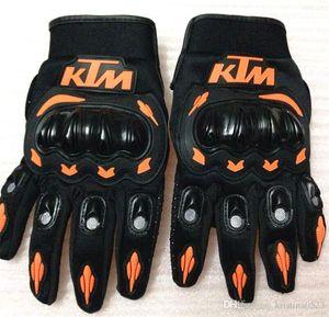 Heißer Verkauf KTM Motorradhandschuhe Moto Racing Handschuhe Herren Motocross Vollfingerhandschuhe M / L / XL / XXL