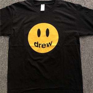 Justin Bieber Moda T- Shirts Hombres Ropa Impreso Hip Hop o cuello floja ocasional de Drew casa de diseño T Shirts Tees