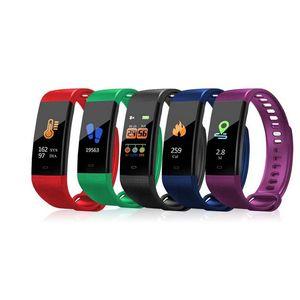 Оптовая продажа Y5 Smart Band Watch 6 Цветной Браслет с Экраном Сердечного ритма Активность Фитнес-трекер Умный Браслет
