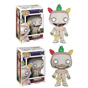 Funko POP! TV: American Horror Story Извилистого Винил ФИГУРКА brinquedos Collection Модель игрушка для детей подарок LY191210
