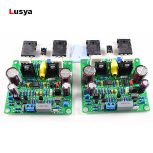 2PCs new L6 MOSFET Audio HIFI Power Amplifier DIY Accuphase E210 modified finished 150W DC+ -25V-DC+  -55V F8-005