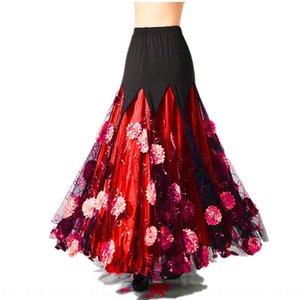 Competition modern practice performance ballroom dance big national standard dance Long Skirt Waltz long skirt