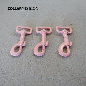 10pcs / lot Metall rosa Farbe Hund Karabinerhaken dauerhafte und starke Wirbelkarabiner Zink-Legierung Diy Zubehör CPK25P farbige Backen