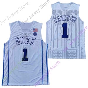 2020 NCAA Duke Blue Devils College Basketball Jersey NCAA 1 Vernon Carey Jr All Stitched and Embroidery Men Youth Size