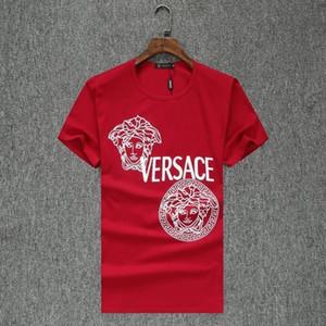 여름 남성 티셔츠 패션 TColor white 남성용 확대 라운드 넥 T Will Man Short Sleeve Pure 코튼 디자이너 럭셔리 티셔츠