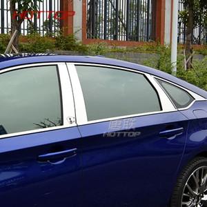 혼다 어코드 1020에 대 한 스테인리스 자동차 외부 창 필 라 장식 커버 트림 스타일링 몰딩 액세서리