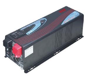 APV DC12V / 24V / 48V-3KW YIY 3000W نقي شرط موجة العاكس / CHARGER DCAC EXCHANGE عكس الحماية الحالية يحمل في ثناياه عوامل SOLAR CHARGE CONTROLLER