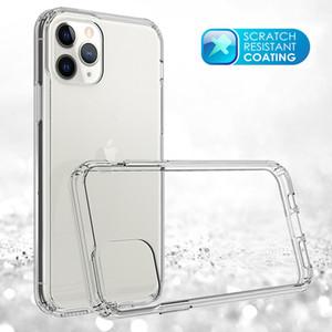 Pour iPhone 11 Pro Max XR XS MAX 5 6 7 8 Plus clair dur hybride PC acrylique Retour TPU Frame pour Moto G8 plus équipée Shell Anti Scratch