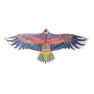 1pc Büyük Daire Kartal Kuş Uçurtma Çocuk Uçan Kuş Uçurtmalar Windsock Açık Oyuncak Bahçe Bez Oyuncak İçin Çocuk Hediye Rastgele Renk