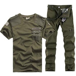 ABD Ordusu Tracksuits Spor Men Askeri Eğitim Kamp Yürüyüş Açık Running takım elbise Ordu Hayranları Uniform Serve setleri