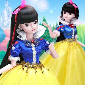 60cm Fashion Girl Dolls Großes ursprüngliche handgemachtes 03.01 Puppe voller Satz 20 Jointed Puppe-Mädchen-Spielzeug für Kinder Kinder Gif Modepuppe T200429