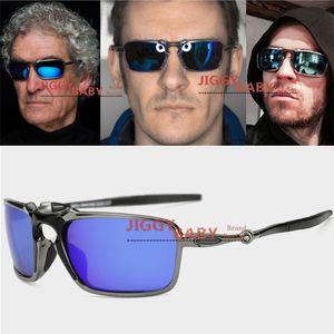 Üst Marka Tasarımcısı Polarize Güneş Gözlüğü X Metal Badmaned Spor Premium Yüksek Kalite Güneş Gözlükleri Sürme UV400 Erkekler Kadınlar Için Iridium Buz Mavi Yeşil Yakut Kırmızı