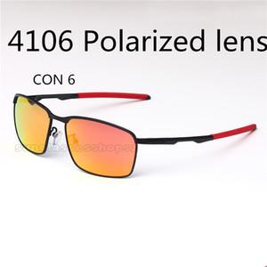 tor 6 Metall polarisierte sonnenbrillen männer und frauen retro reiten outdoor reisesonnenbrillen 4106 Riding Bicycle eckige sport-sonnenbrille