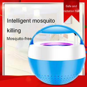 Photokatalysator Moskito-Lampen-Ausgangs Indoor Mosquito Artifact Mute UV-Licht InsektRepeller Schlafzimmer Plug-In Insektenfalle keine Strahlung BH1830 CY