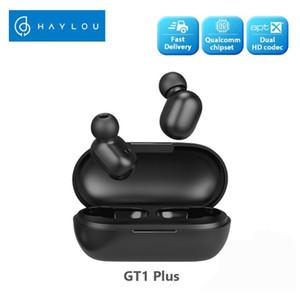 듀얼 마이크 소음 절연과 최신 Xiaomiyoupin Haylou GT1 플러스 블루투스 이어폰 터치 제어 무선 헤드폰 HD 스테레오