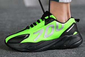 2019 Yüksek Kaliteli 700 Erkek Casual Ayakkabı En İyi Kalite 700 s Spor Sneakers Ayakkabı kanvas ayakkabılar boyutu 39-45