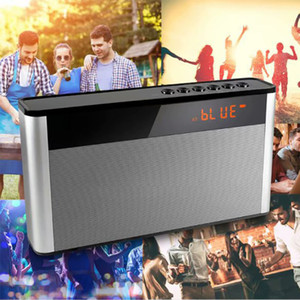 P2 Wireless Bluetooth SpeakerS Mini Portable Subwoofer Car Handsfree AUX TF Loudspeaker Receive Call Music Suction Mic HiFi Speaker FM Radio