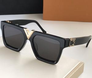 V Рамка квадратные солнцезащитные очки Крупногабаритные солнцезащитные очки Женщины Gradient ВС очки Большой кадр Vintage очки UV400 очки с коробкой