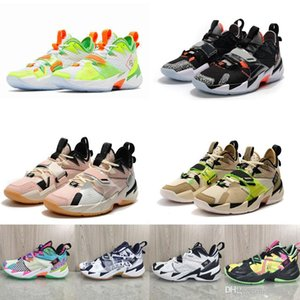 Mens Russell Westbrook why not zero 3s basketball shoes KB3 Black Cement Splash Zone Washed Coral James Lebron 17 sneakers tennis with box