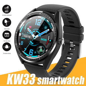 KW33 Smart Watch Men IP68 Waterproof Fitness Tracker Heart Rate for Android System with Retail Box Smart Bracelet Bluetooth 4.0