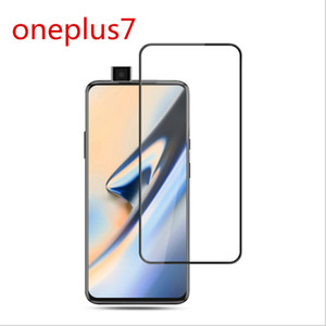 For Oneplus 7  6T Tempered Glass Screen Protector One Plus 5 5T Three Oneplus 5 5T Full Cover 9H 2.5D Ultra Thin Protective Film Guard