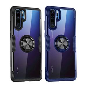 Darbeye dayanıklı telefon kılıfı Için Huawei P40 Pro P30 Lite P20 Nova 5 T manyetik Braketi Kılıf Için Huawei Mate 30Pro 30 Lite 20 20Pro P Akıllı 2019