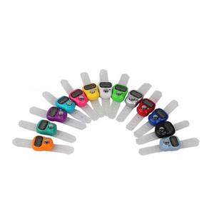 Портативные электронные счетчики Пластик Цвет Mix цифровой экран Тип звонка Портативный Tally счетчик Воспевание Будда мусульманская аксессуары 1 1SH E19