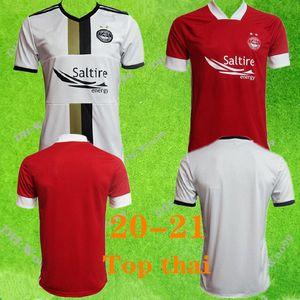 Top 2020 Aberdeen FC Maillots de football adulte maison rouge chemise 20/21 Aberdeen FC McGinn football Chemises McKenna principal fans de football uniformes