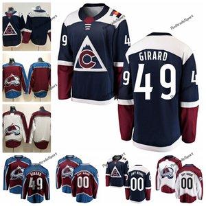 2019 Samuel Girard Colorado Avalanche Hockey Maglie Mens Alternate Blue # 49 Samuel Girard Maglie cucite Personalizza Camicie S-XXXL