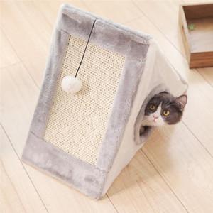 Engraçado Gatos Scratchers Boards Cloth House Proteger Móveis Cat Moagem de escalada que joga o brinquedo Pet Shop Produtos item