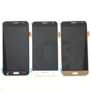 Assemblaggio Fusibile LCD completo OEM per Samsung Galaxy J3 2016 J320A J320F Nero con luminosità regolabile